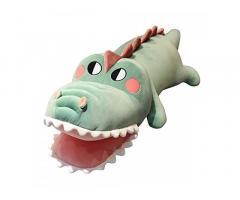 Party Propz Crocodile Soft Toy for Kids, Boys Or Girls - 45Cm Big Size Crocodile Toy