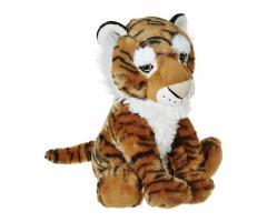 Amazon Brand - Jam & Honey Tiger Wild Onez Animal Soft Toy (12 Inches, Yellow)
